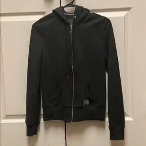 Victoria's Secret black extra small hoodie